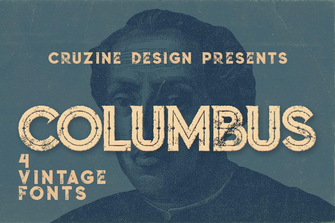 Columbus font