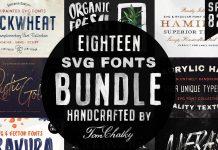 Handcrafted SVG Fonts Bundle