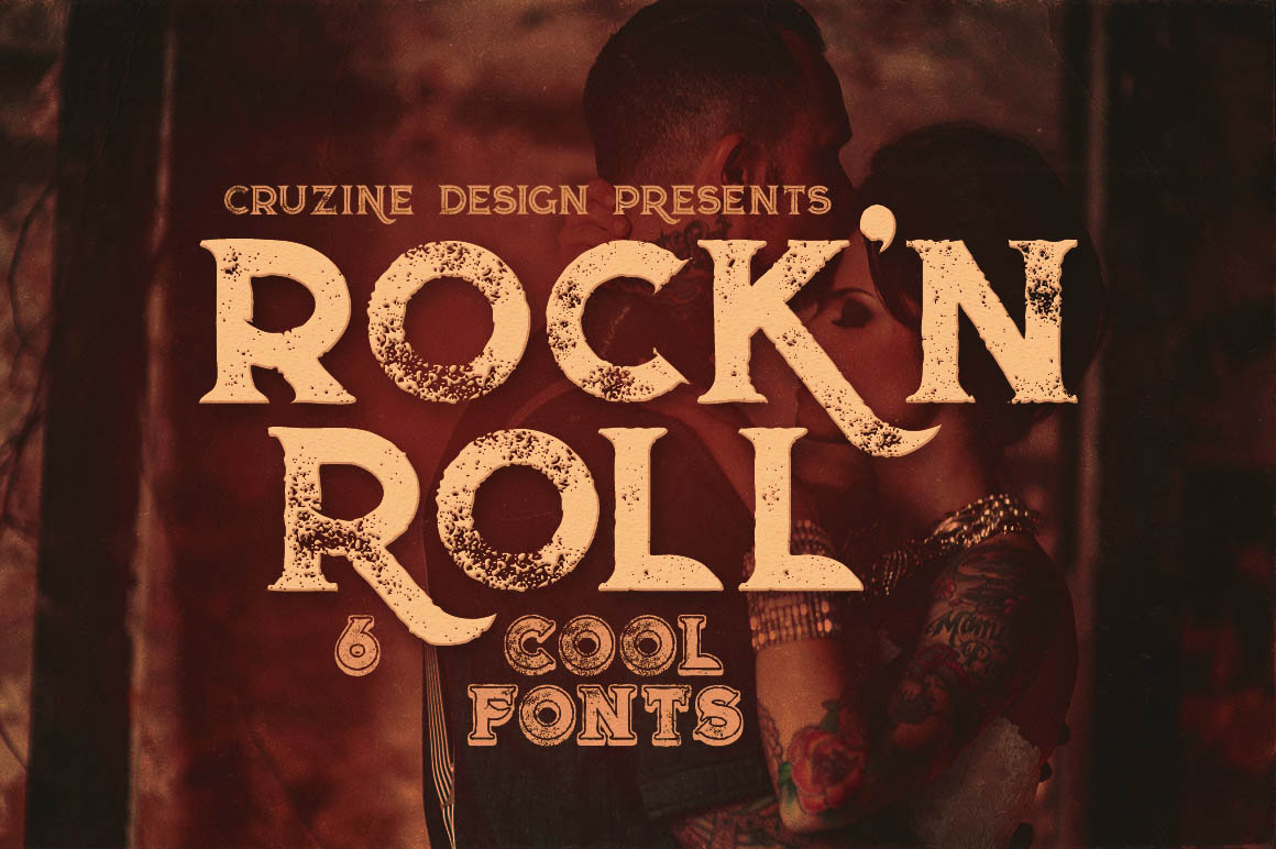 Rock'n Roll typeface