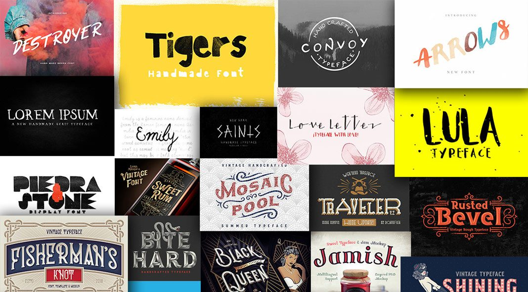 The Sensational Serif Fonts Bundle