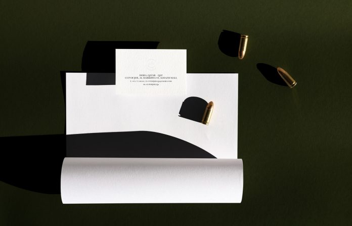 Cup of Joe - minimalist coffee shop identity by Alexandre Pietra
