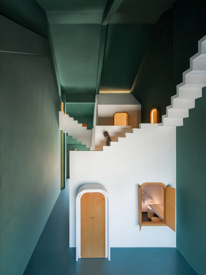 Maze, The Other Place guesthouse designed by Studio 10