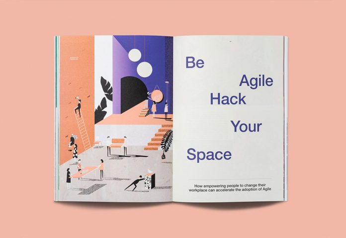 Steelcase 360 Magazine - redesign by Hybrid Design