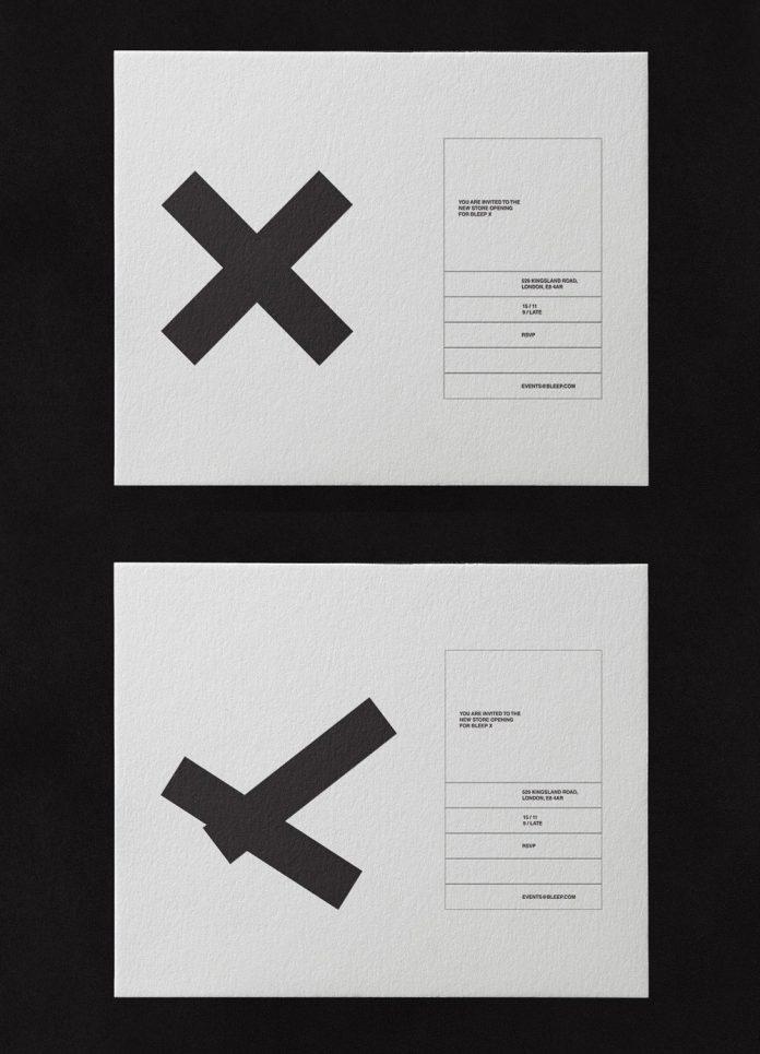 Bleep × store branding by Caterina Bianchini Studio