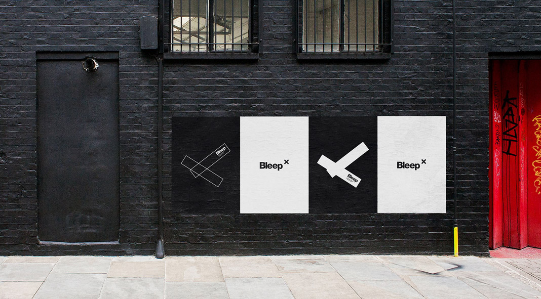 Bleep × Store Branding by Caterina Bianchini Studio