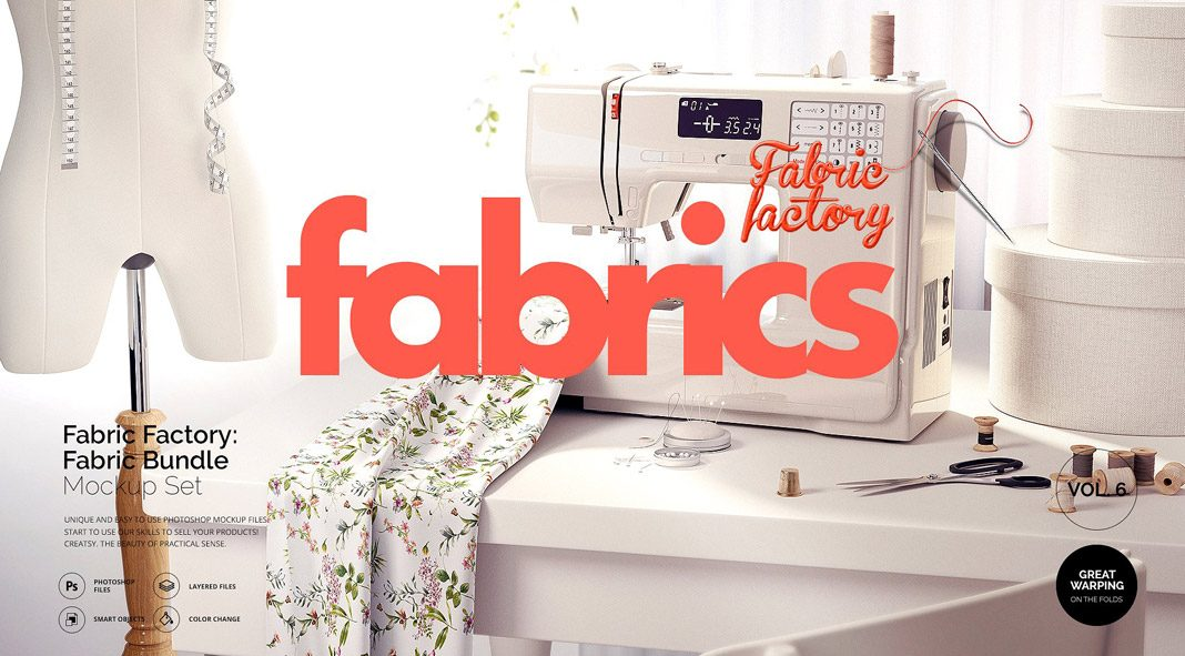 Fabric Factory Mockup Bundle