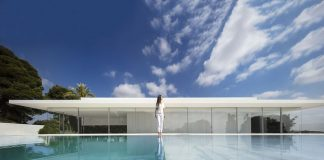 Hofmann House in Rocafort, Valencia designed by Fran Silvestre Arquitectos.