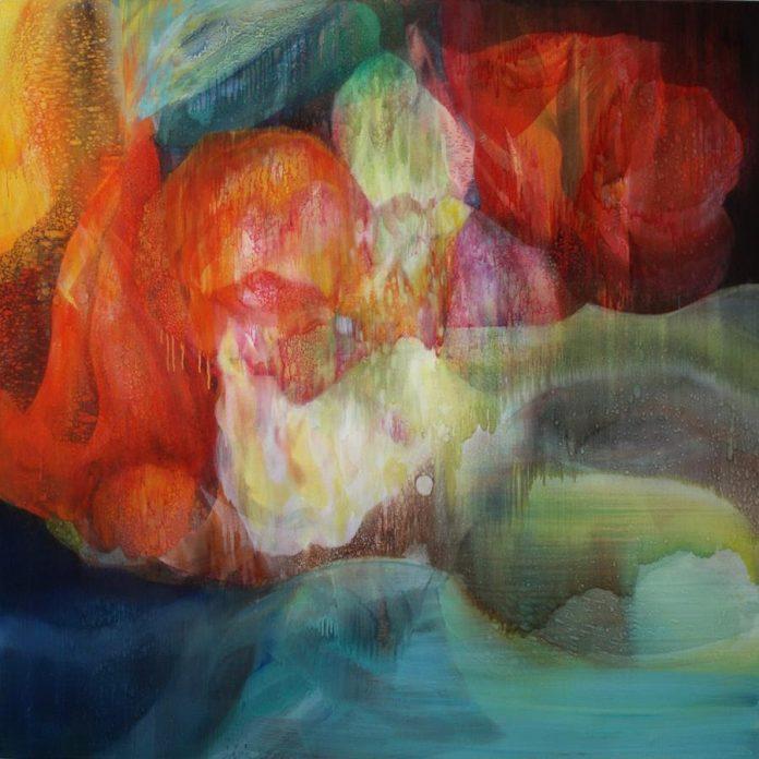 Ian Greig, Before too long, oil on canvas, 170 x 170 cm (framed)