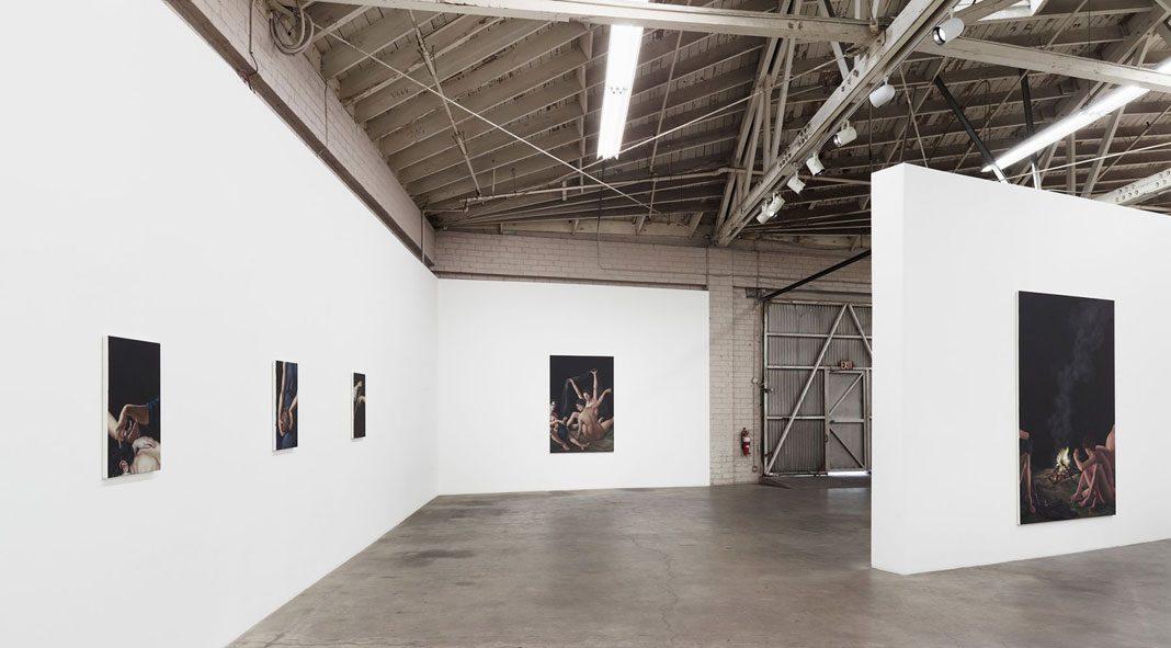 Jesse Mockrin, Syrinx paintings at Night Gallery