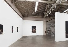 Jesse Mockrin, Syrinx paintings at Night Gallery
