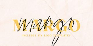 Margo font duo from Jen Wagner