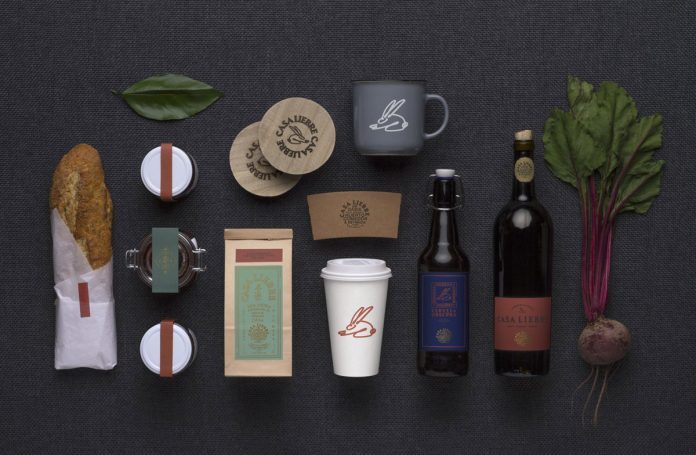 Casa Liebre branding by Algoritmo Consultants