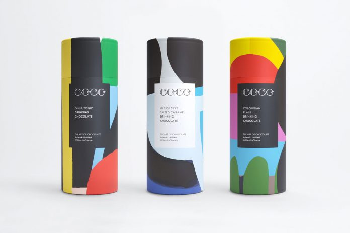 COCO Chocolatier - graphic design, branding, and packaging design by Daniel Freytag.