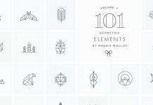 101 Geometric Logo Elements by Maggie Molloy