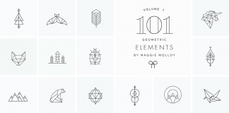 101 Geometric Logo Elements by Maggie Molloy