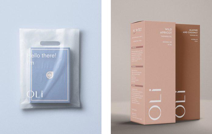 OLI branding and package design by Anastasia Dunaeva