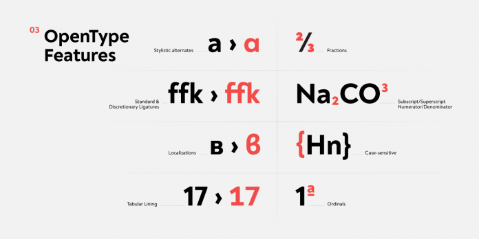 Noah type system by Fontfabric