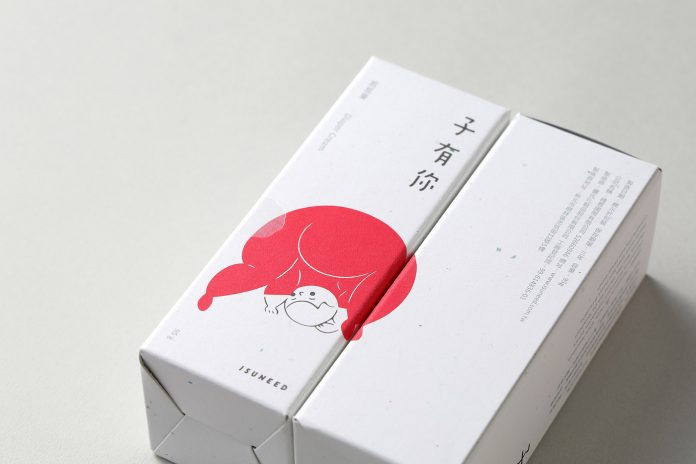 Graphic design, illustration, branding, and packaging by Teng Yu Lab for ISUNEED