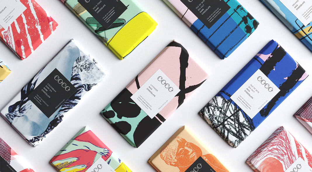 COCO Chocolatier – brand and packaging design by Freytag Anderson