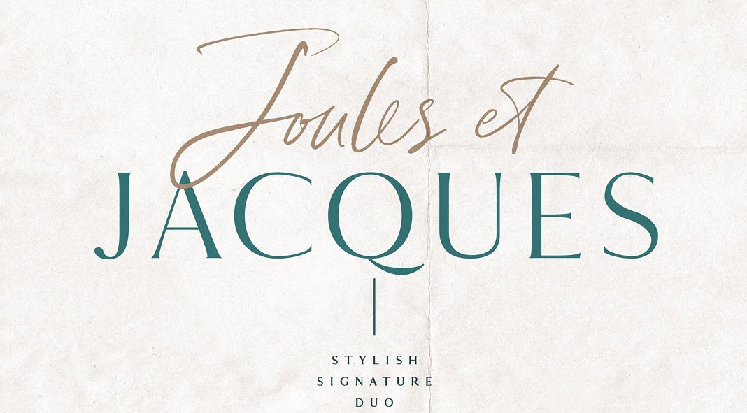 Joules et Jacques Font Duo by Nicky Laatz