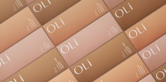 OLI branding and package design by Anastasia Dunaeva