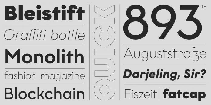 Graphit font family by HVD Fonts
