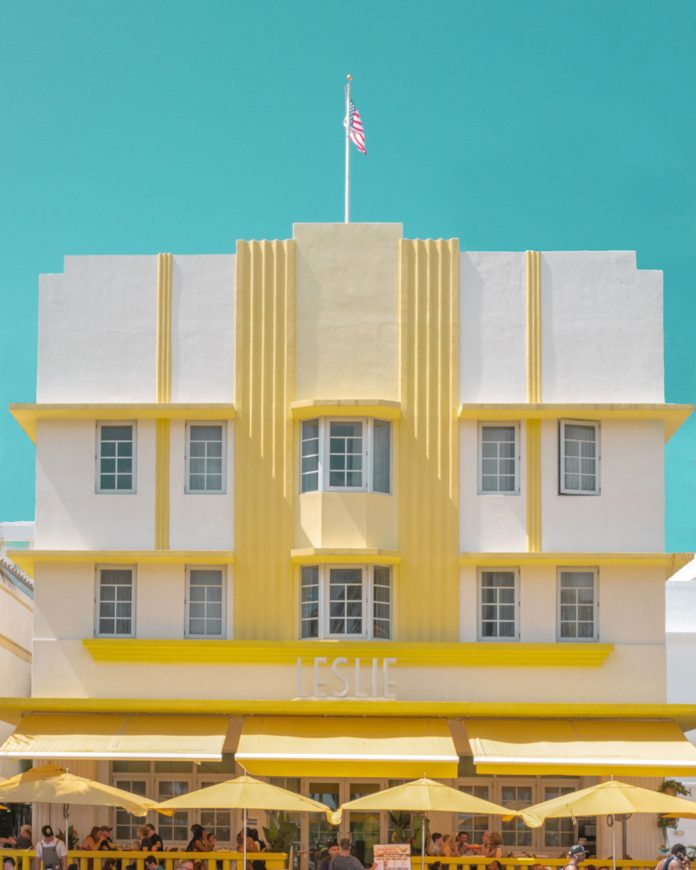 Pastel-Colored Urban Photographs in Miami by Minjin Kang and Mijoo Kim