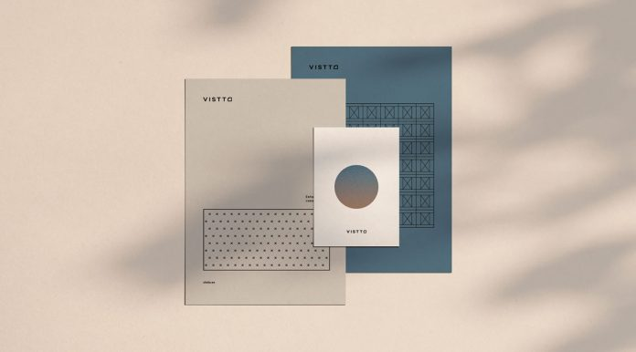 Vistto Building Studio Branding by The Woork Company.