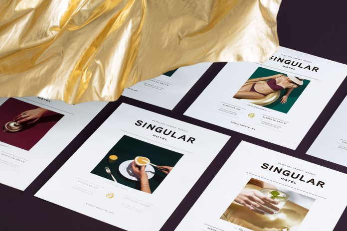 Branding by Futura for the residential project, Singular