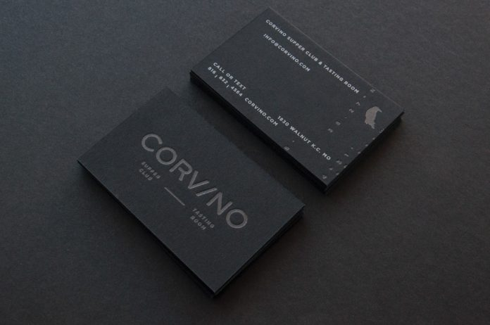 Graphic design and branding by Design Ranch for Corvino Supper Club
