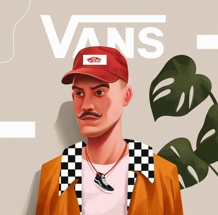 Vans illustrations by Leo Natsume
