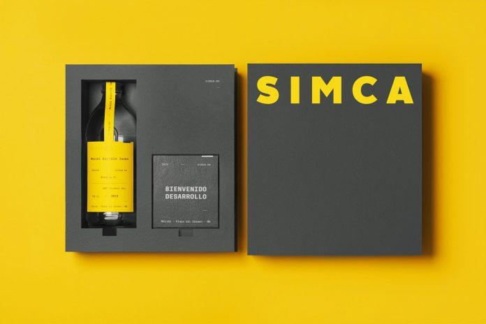 SIMCA branding by studio Futura.