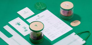 KININAL - cafe and cake shop branding by NOSIGNER.