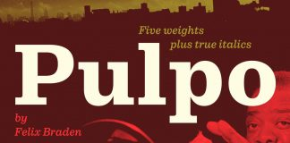 Pulpo font family from Floodfonts