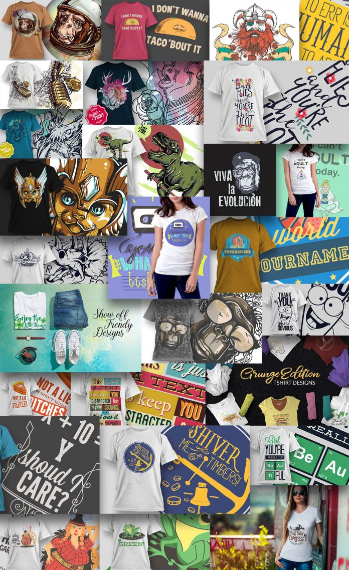 T-Shirt Designs Bundle
