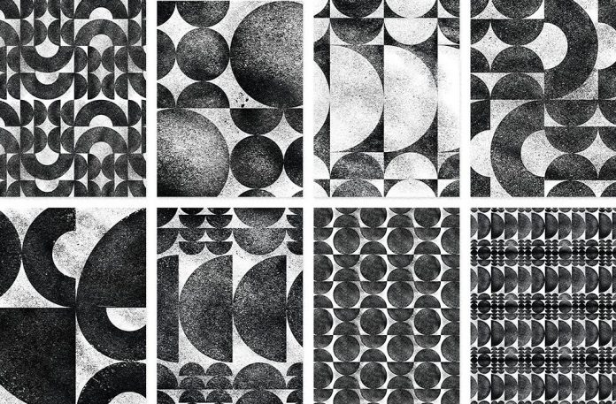 60 Textured Grit Patterns from Huebert World