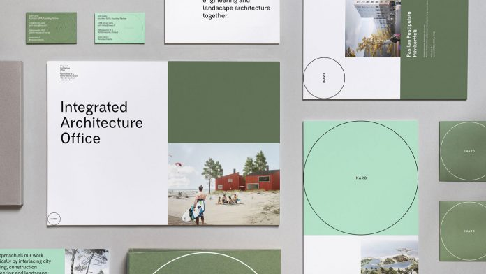 Inaro Architects branding by studio Werklig