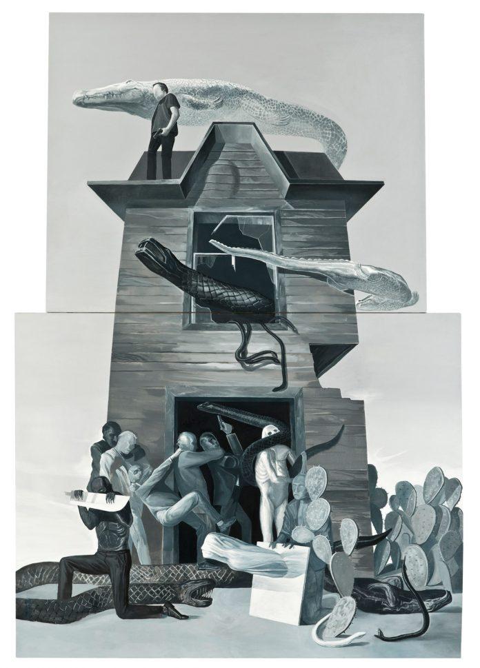 Painting by artist Tayfun Gülnar.