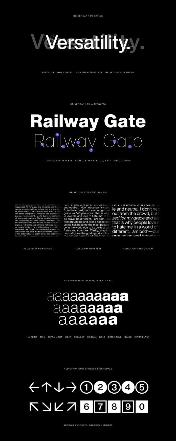 Helvetica Now from Monotype