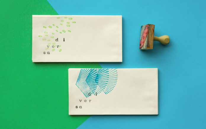 Handmade branding by Carlos Bauer for Diversa