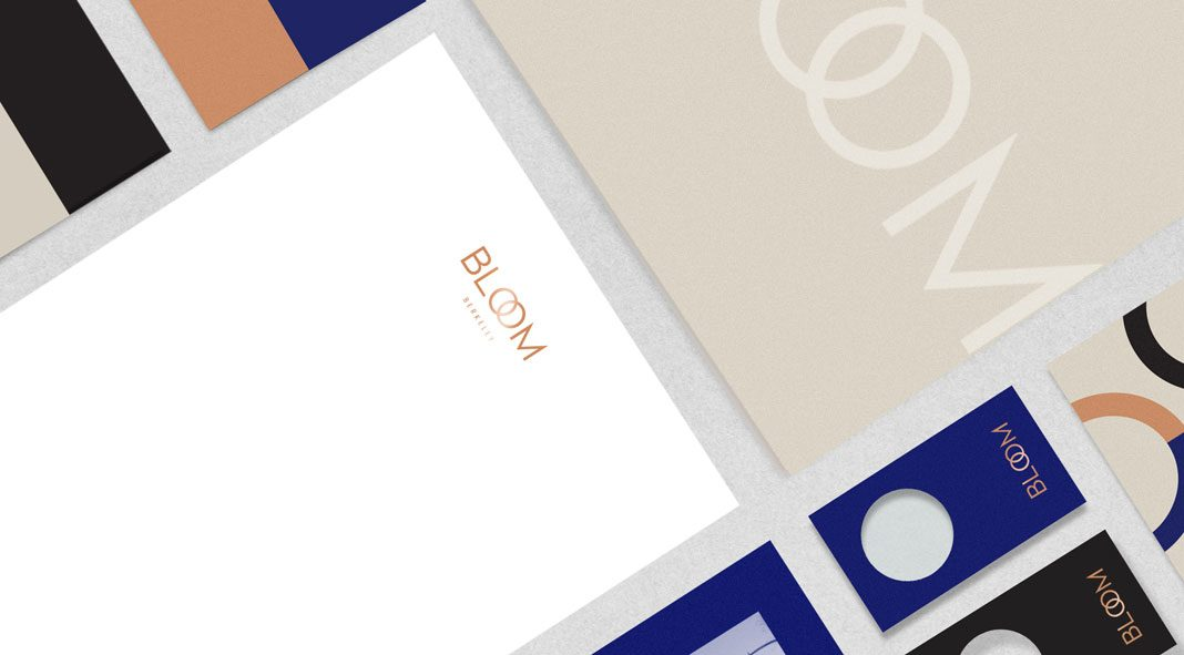 Graphic design and branding by Kati Forner for Bloom Berkeley.
