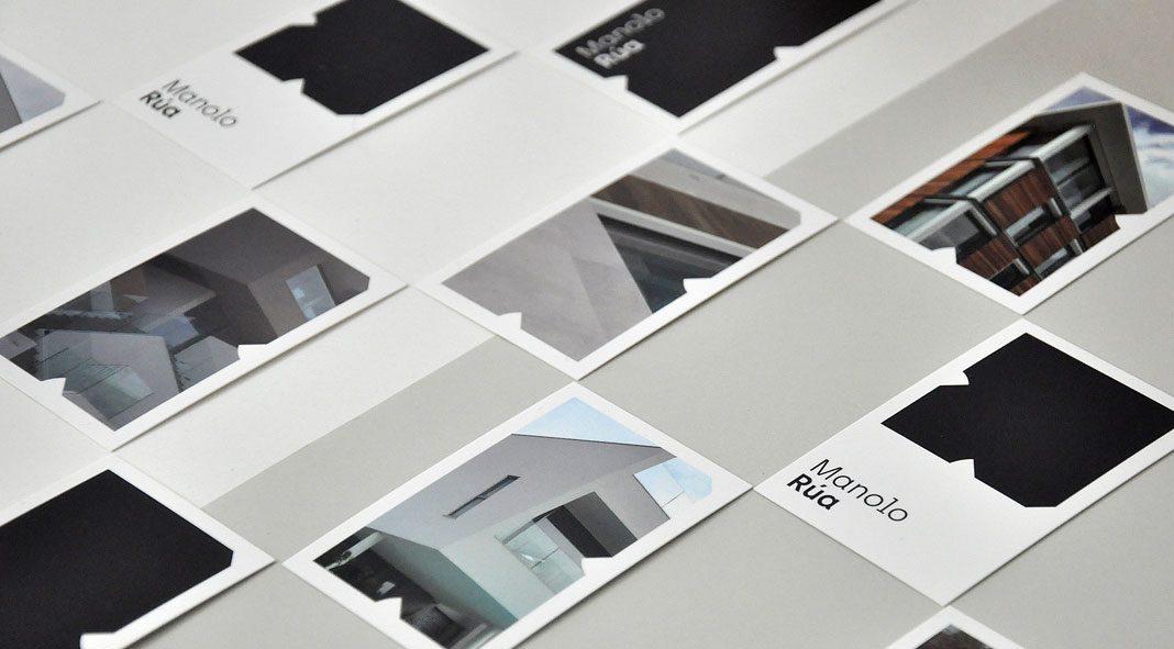 Manolo Rua architecture identity by Barceló Estudio