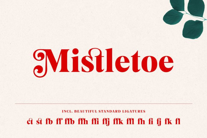 The typeface comes with some standard ligatures.