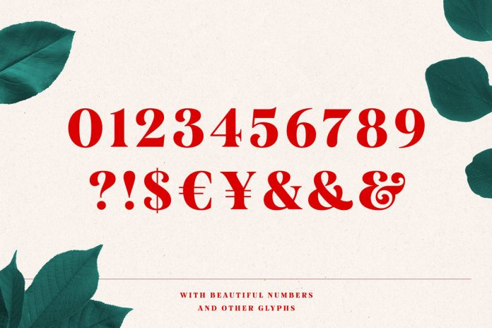 Mogan includes beautiful numbers and other glyphs.