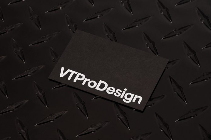 VT Pro Design rebranding by Forth + Back.