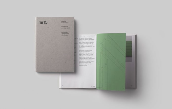 Mr15 branding by Buenaventura estudio.
