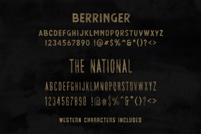 Vintage SVG fonts bundle and logo templates from Hustle Supply Co.