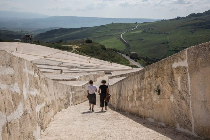 'Tracing the Faults' - Sicily's Grande Creto Memorial, a photo essay by Ste Murray