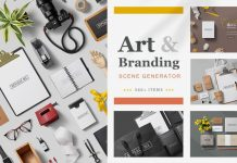 Art and Branding Scene Templates by h3design