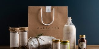 GABFOODS brand and packaging design by Studio Born